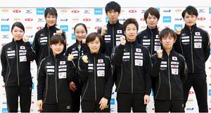世界卓球日本代表